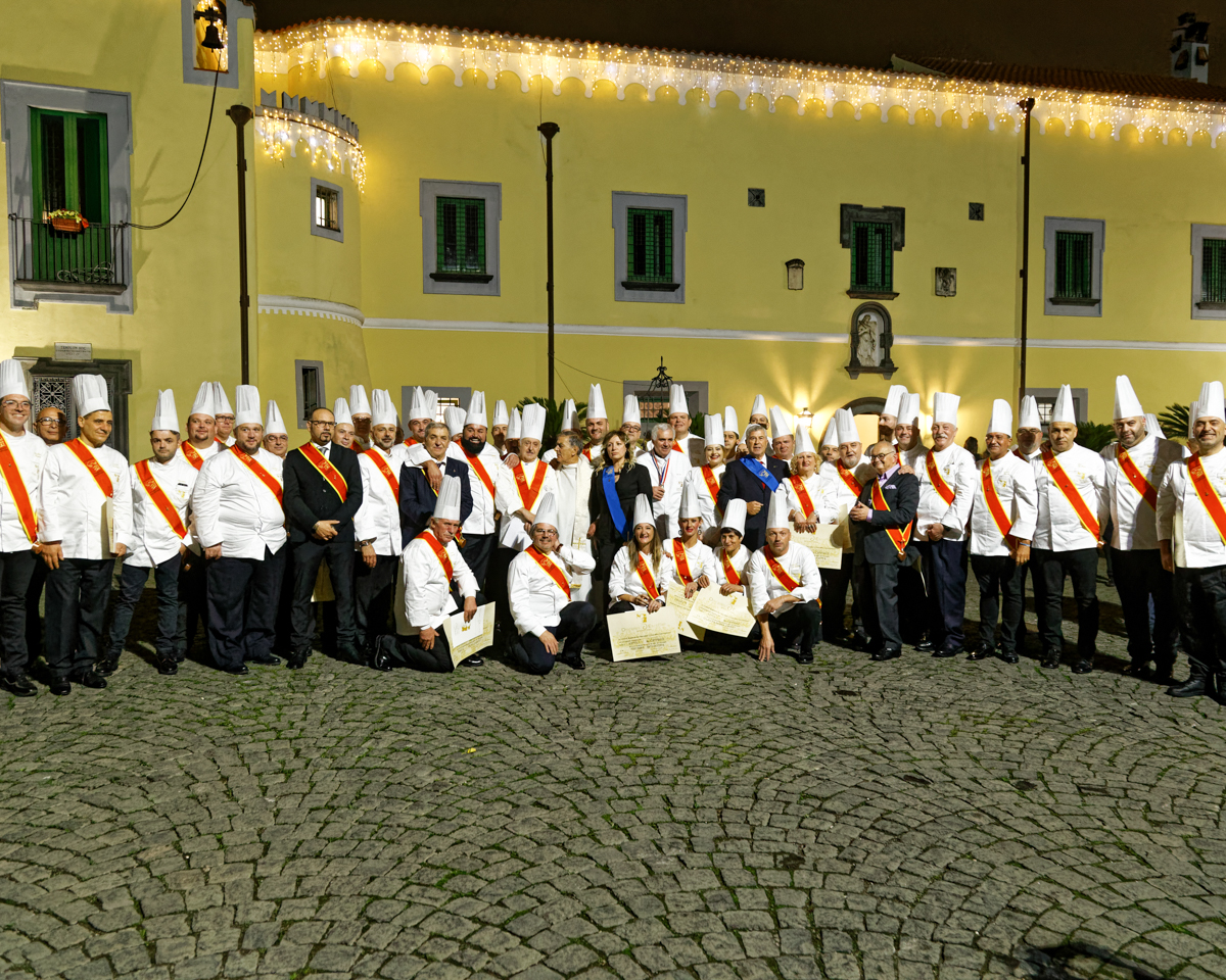 Cerimonia Investitura Discepoli Escoffier 2019 al Castello Santa Caterina