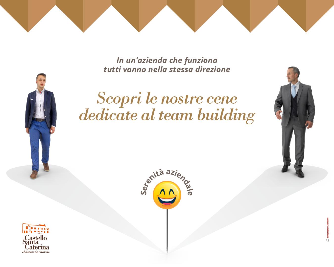 Cena aziendale: team building per motivare i dipendenti